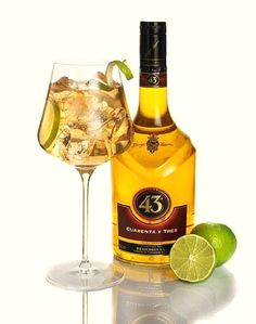 Ginger 43, one last summer cocktail with Licor 43. Check the recipe :) #EuropeanBartenderSchool