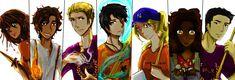 Heroes of Olympus by Kami-Seku