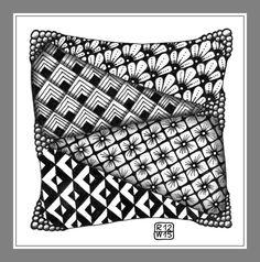 #Zendoodle #creative #kreativ #zentangle #pattern