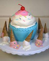 Ice Cream shaped Cake