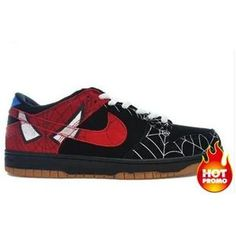 cccfd7871d70 Womens Nike Dunk Low Spiderman Marvel Custom Collections
