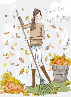 sooooooo ready for fall weekends!