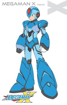 Here is my versions of the Light Armor Ver. I had some inspiration from GunZcon version of this armor. I made a few adjustments to mine, but th. Megaman X Light Armor-Ver. Mega Man, Game Character, Character Concept, Character Design, Maverick Hunter, Fighting Robots, Astro Boy, Art Anime, Fanart