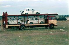 Team Abarth transport