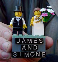 lego wedding cake topper?