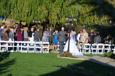 Ceremony at one of our ponds