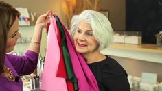 Video: Dress Color Advice for Grey Hair