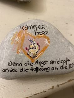 Rock And Pebbles, Pebble Art, True Words, Stone Painting, Words Quotes, Painted Rocks, Diy And Crafts, Bullet Journal, Inspiration