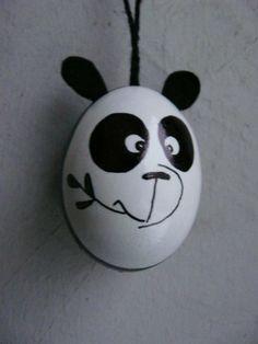 Osterei Panda