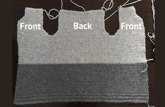 Free crochet cardigan pattern - simple pattern by Wilmade Crotchet Patterns, Crochet Cardigan Pattern, Afghan Crochet Patterns, Crochet Shawl, Crochet Yarn, Easy Crochet, Crochet Stitches, Free Crochet, Double Crochet