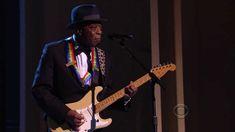 Carlos Santana The 36th Annual Kennedy Center Honors, 2013 (warms up at 4:10, sizzles at 7:20)