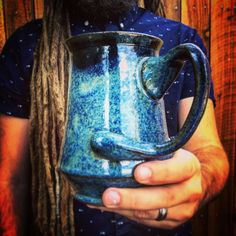 """59 Beğenme, 2 Yorum - Instagram'da Vagabond Pottery (@vagabondpottery): """"Message me if you're interested in this one-off stein. $50. Also check out previous posts to check…"""""""