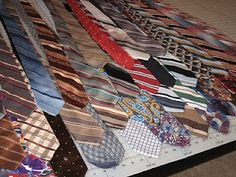 tips for sewing with neckties