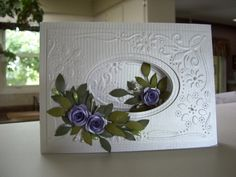 Mauve Roses by BuffyG - Cards and Paper Crafts at Splitcoaststampers