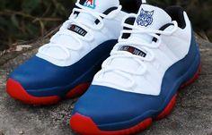 "Air Jordan 11 Low ""Wildcats"" Custom"