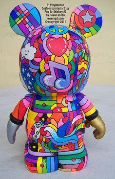 pop art Disney Vinylmation  #disney #disneycollectables  smallworldbigfun.com