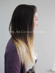 Thinking about having my hair dyed in this style. :)