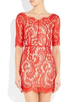 Coral lace... In LOVE!