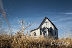 Old church — Shoot through the day as light changes.  Photography focus