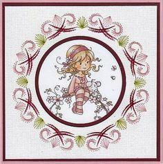 Josee's Kaartenblog: Twee kaarten gemaakt met de plaatjes van het Hobbyhouse