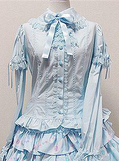 Princess Lace Jabot Blouse  (Angelic Pretty)