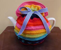 Rainbow Connection Tea Cosy Jenny Occleshaw