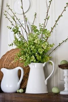 white-ceramic-teapot-with-fresh-flowers-for-Fresh-Spring-Decoration.jpg (412×615)