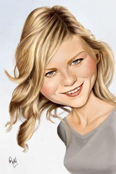 Kirsten Dunst by crueniaone on deviantART