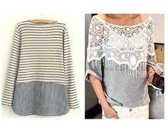 Расширяем любимые тесные вещи - Модная женщина: одежда и вещи для полных Tunic Tops, Women, Fashion, Moda, Fashion Styles, Fashion Illustrations, Fashion Models