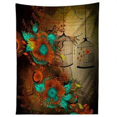 Iveta Abolina Rusty Lace Tapestry | DENY Designs Home Accessories