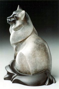 Rosetta Sculpture Portfolio Domestic Cats - Birman Cat - Ideas of Birman Cat - Rosetta Sculpture Portfolio Domestic Cats The post Rosetta Sculpture Portfolio Domestic Cats appeared first on Cat Gig. Dog Sculpture, Stone Sculpture, Animal Sculptures, Birman Cat, Cat Decor, Cat Sitting, Domestic Cat, Stone Carving, Wildlife Art