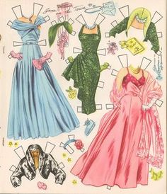 CDVD Mart is thrilled to now offer Repro paper doll sets from the and more! Vintage Rare Marge and Gower Champion Dancing Stars Uncut Vintage Paper Dolls, Vintage Crafts, Elizabeth Taylor, Madame Alexander, Paper Toys, Paper Crafts, Paper Puppets, Jane Powell, Retro Mode