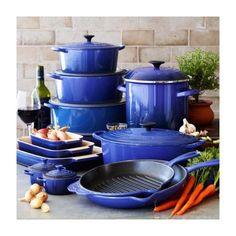 Le Creuset Blue Oval French Oven, 3 1/2qt., Cobalt, 3.5 qt