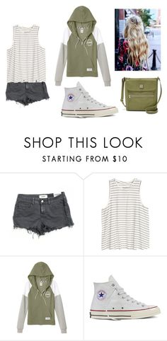 """Summer"" by bre-winter ❤ liked on Polyvore featuring Victoria's Secret PINK, H&M, Victoria's Secret, Converse and Relic"