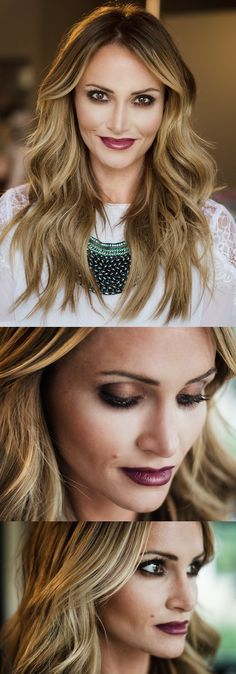 Gorgeous Fall Makeup.. A bit heavy for everyday, but great for a date or night out with the girls!!