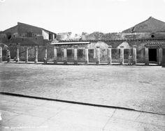 """Baths of Stabiae, Pompeii, Italy, 1895"""