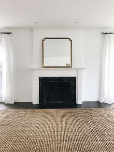 My Search for the Perfect Jute Rug – Danielle Moss – jute Rugs living room Cottage Living Rooms, Living Room Grey, Rugs In Living Room, Home And Living, Dining Room Rugs, Rug Inspiration, Up House, Jute Rug, Floor Rugs