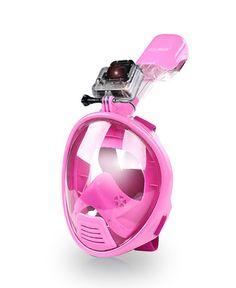 AquaMask – Full Face Snorkel Mask For Kids (Pink)