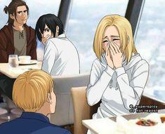 Attack On Titan Comic, Attack On Titan Season, Attack On Titan Ships, Attack On Titan Fanart, Armin, Eren X Mikasa, Atack Ao Titan, Anime Faces Expressions, Handsome Anime Guys