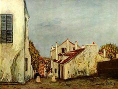 Paris--Maurice Utrillo