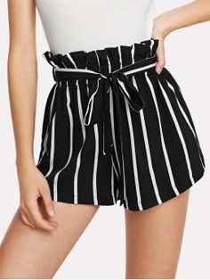Looking for SweatyRocks Women's Casual Elastic Waist Striped Summer Beach Shorts Pockets ? Check out our picks for the SweatyRocks Women's Casual Elastic Waist Striped Summer Beach Shorts Pockets from the popular stores - all in one. Cute Summer Outfits, Short Outfits, Trendy Outfits, Short Dresses, Cute Outfits, Fashion Outfits, Fashion Mode, Trendy Clothing, Clothing Accessories
