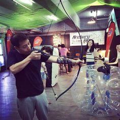 #happyfriday #battlegame #決箭 #Archerytag #Archerytagbattle #sanpokong #workhardplayhard #amazinggame #香港競技場