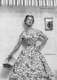 Tippi Hedren-Butterick Pattern Book 1954