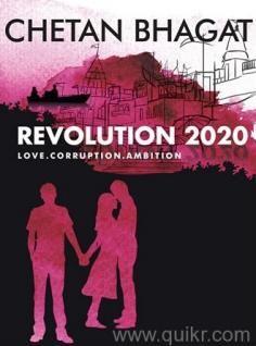 REVOLUTION 2020 for Love. Corruption. Ambition.Chetan Bhagat Call me at: 8055587315