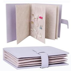 Eu0027Plaza® 42 Pairs Earrings Leather Book Jewelry Display Organizer Ear Studs Storage Book Portable Book of Earrings Display PU Leather Cover Case Elegant ...  sc 1 st  Pinterest & AliExpress Mobile - Global Online Shopping for Apparel Phones ...