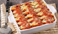 In The Kitchen With Stefano Faita - Easy Ricotta & Pesto Stuffed Shells