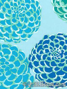 Del Hi VW17-Sapphire Fabric by Valori Wells