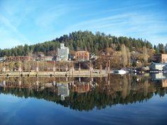 Harrison, Idaho waterfront on Lake Coeur d'Alene
