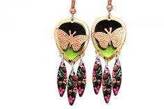 Unique Butterfly Earrings. Buy now: http://esl.io/bhLeZm