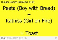 Hunger games humor.